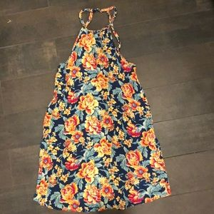 American Eagle Floral Dress with Pockets